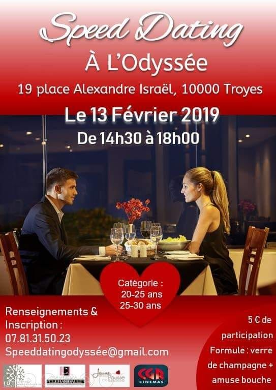 speed dating 20 25 ans