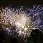 Les feux d'artifices du 14 juillet