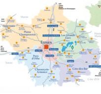 Bezoek de Aube en Champagne
