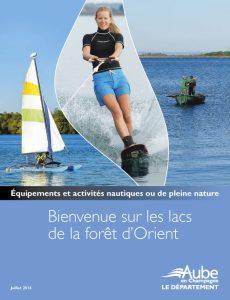 Cartes et activités des Grands Lacs de la Forêt d'Orient
