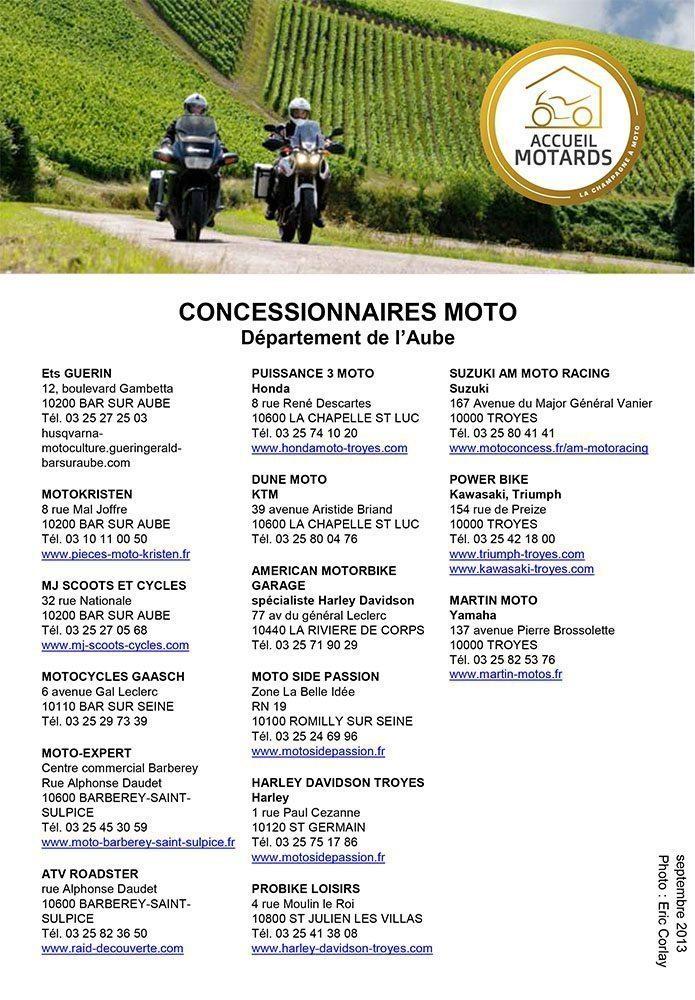 Concessionnaires MOTO (FR)