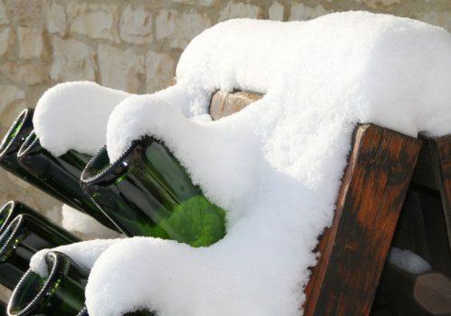 Pupitre et neige Champagne Brossolette