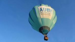 Vol pétillant en montgolfière
