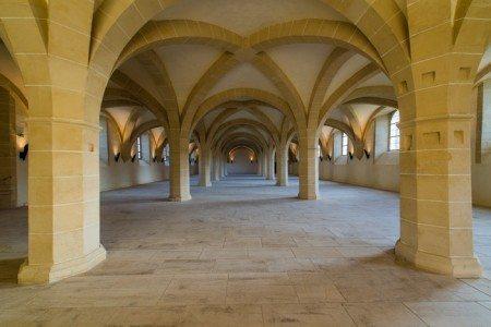 Refectoire des convers abbaye Clairvaux-(c)Sylvain Bordier