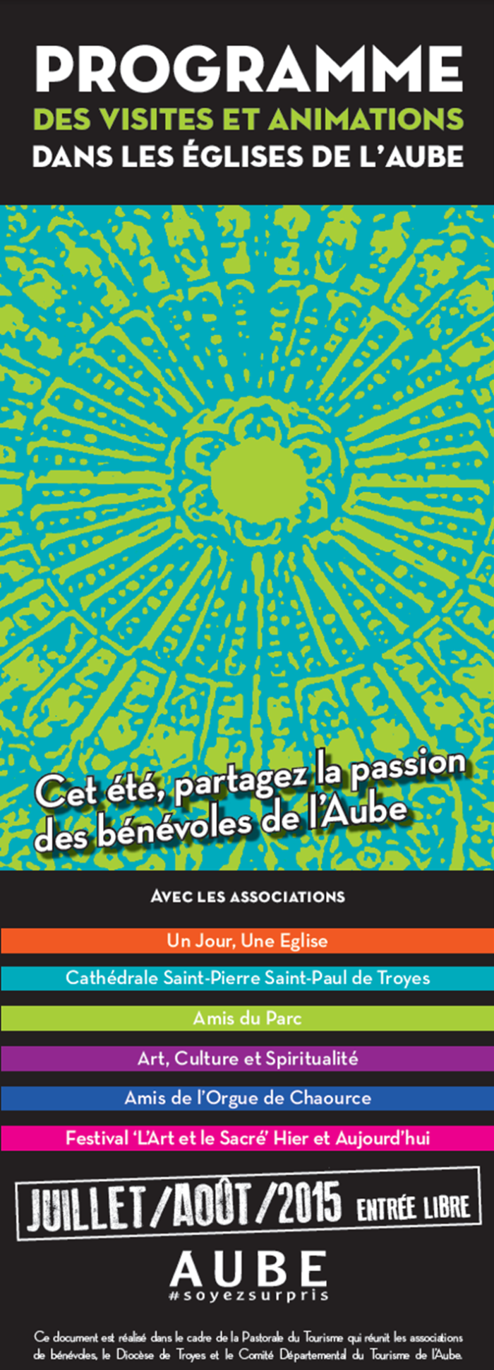 Programme guides benevoles 2015