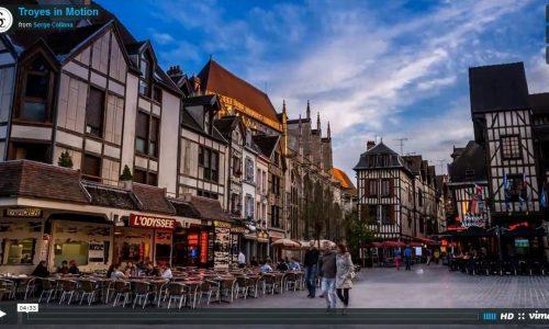 Ville De Troyes Voyages Cartes