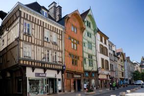 Troyes, de mooie middeleeuwse stad