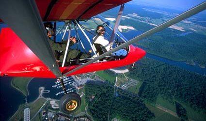 Salvatore en Vol au dessus du Lac de la For+¬t d'Orient Cr+®di