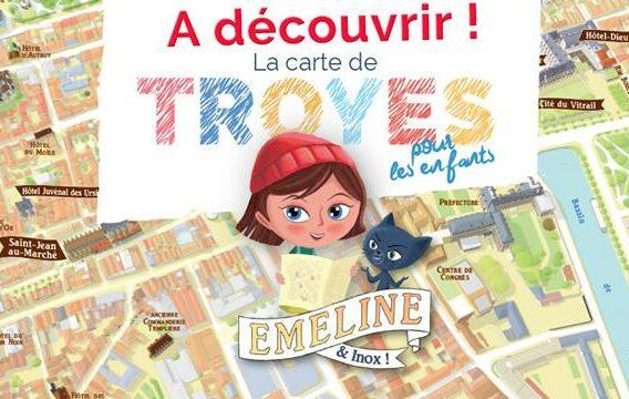 Visiter Troyes à la « carte » avec Emeline