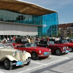 "30th anniversary of the Troyes ""European 48 Hours for Old Cars""."