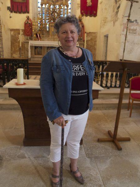 Elisabeth Pastor-Dubraud, guide bénévole