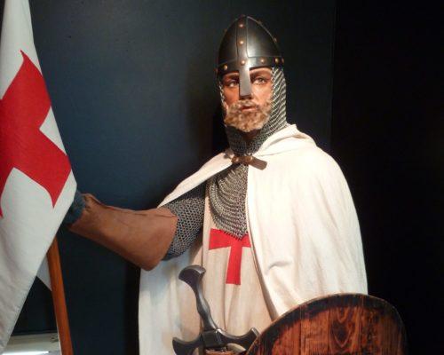 Mannequin Hugues de Payns