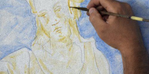 2017 - Visuel Chantier de fresque