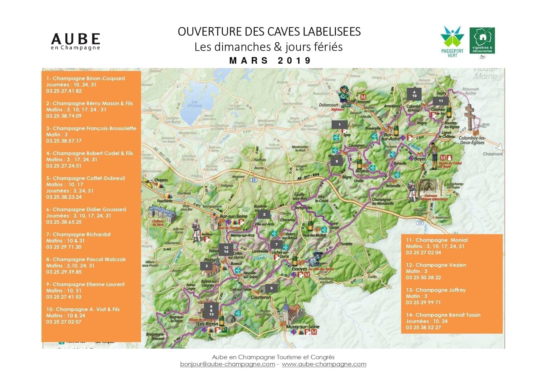 73474df66e9 Les caves labellisées de l Aube en Champagne vous ouvrent leurs portes