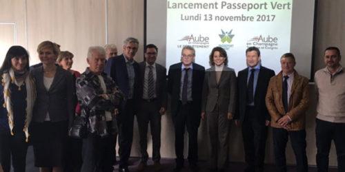 Lancement du Passeport Vert - 13 novembre 2017