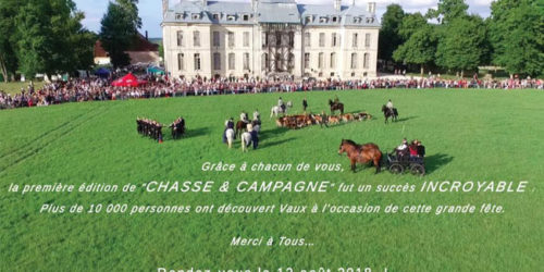 Chasse et Campagne en Fête au Château de Vaux - 13 août 2017