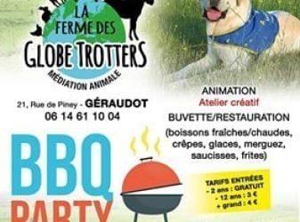BBQ party de la ferme des Globe Trotters