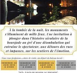 Visites nocturnes de Nogent-sur-Seine