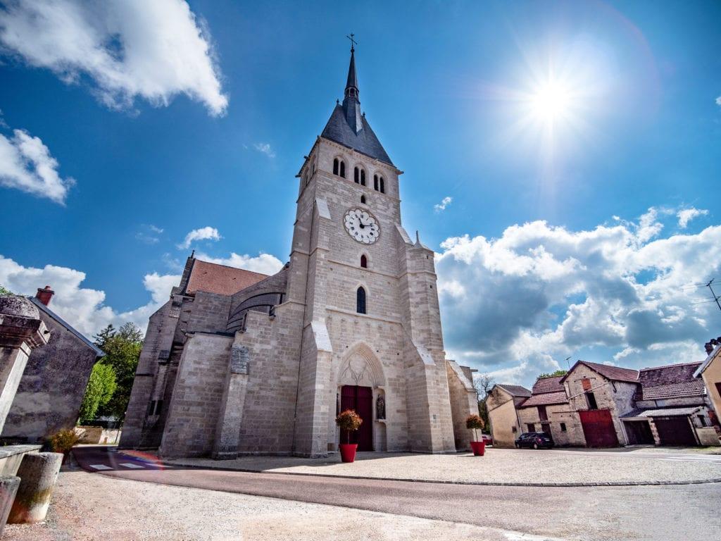 Collégiale Saint-Pierre de Mussy-sur-Seine © BC Image