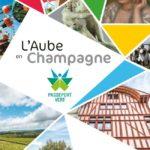 Carte touristique Aube en Champagne 2018