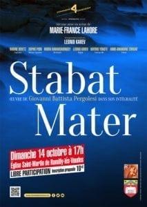 """Récital """"Stabat Mater"""" à Rumilly-les-Vaudes"""