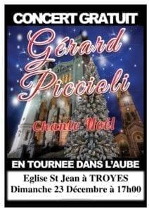 Concert gratuit Gérard Piccioli