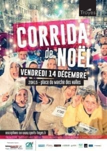 Corrida de Noël à Troyes