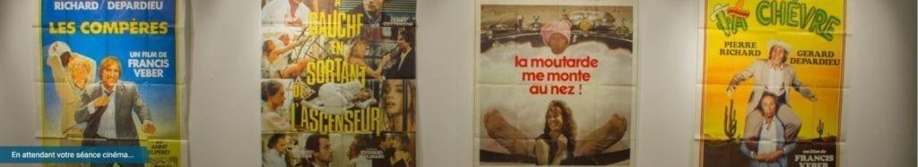 Exposition d'Affiches de Cinéma à Romilly-sur-Seine