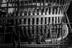 Exposition : Chroniques de chantiers navals © Erwan Dimey