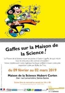 Gaffes sur la Maison de la Science !