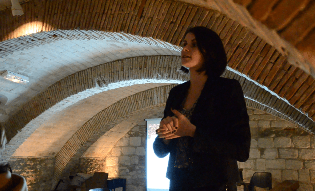 Delphine Semin Dumont - Présidente de l'Association Auboise des Truffes d'Automne