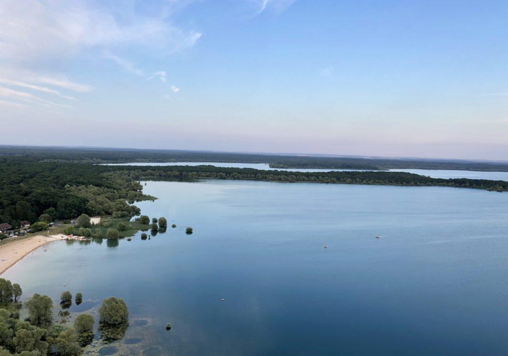 Les Grands Lacs de la Forêt d'Orient (1)Vol en Montgolfière de Marine