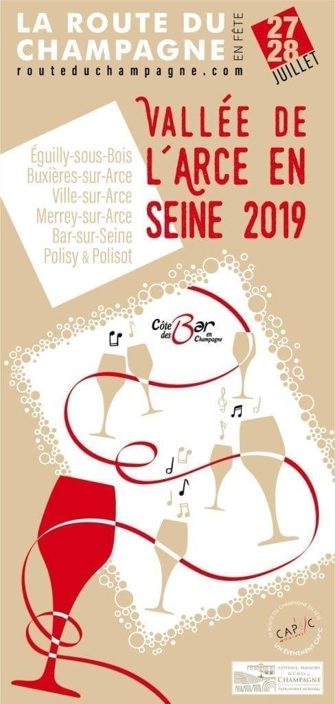 Route du Champagne en Fête sur la Côte des Bars les 27 et 28 Juillet