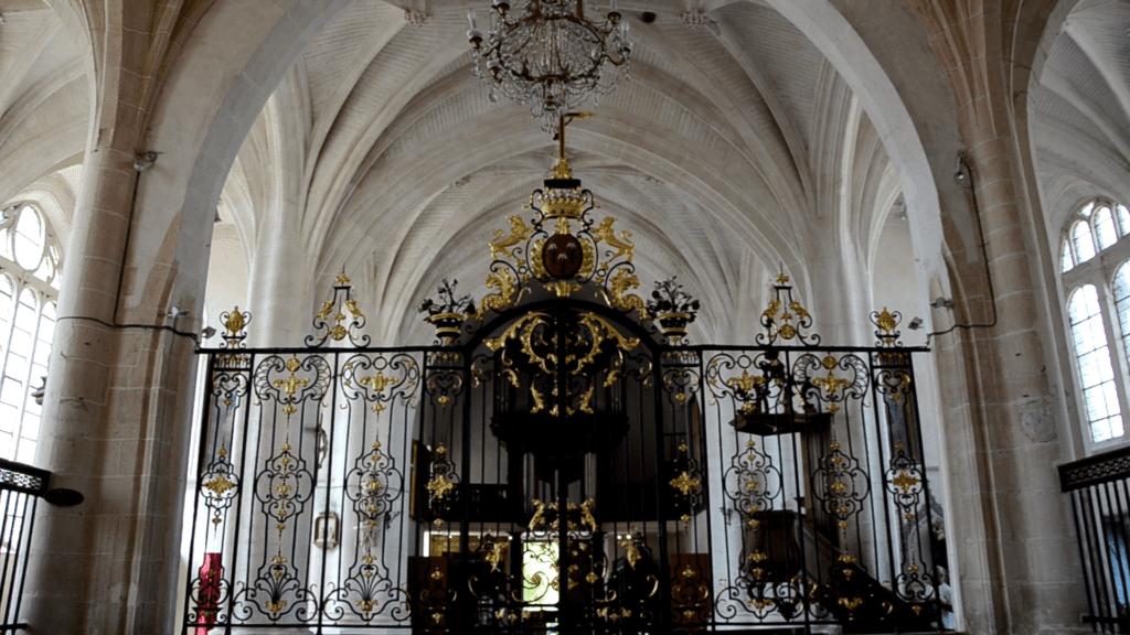 Intérieur de l'église de Dienville
