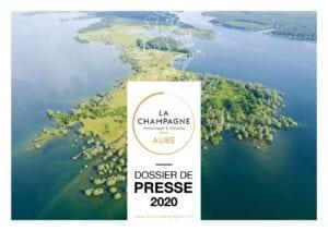Couverture dossier de presse Aube 2020