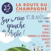 Affiche Route du Champagne en Fête 2020