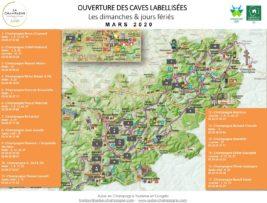 Carte des Caves - Mars 2020