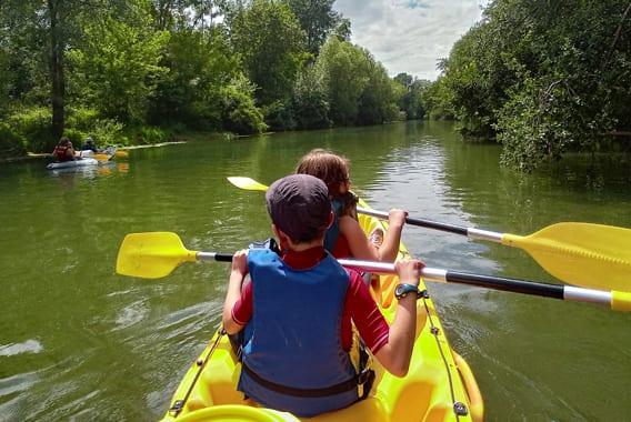 Canoë-Kayak sur la Seine