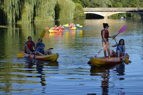 kayak sur la seine