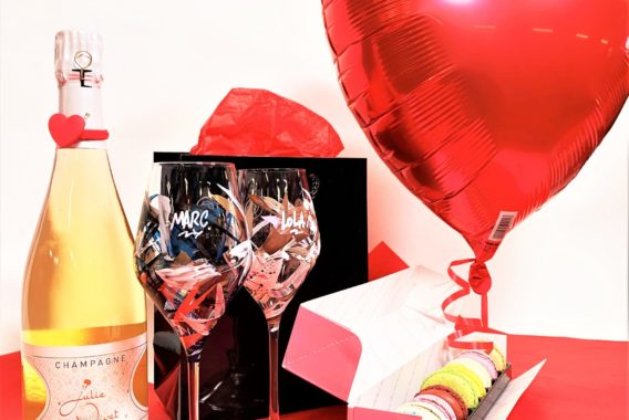 My Wine Break - Champ'n Love box - St Valentin 2021