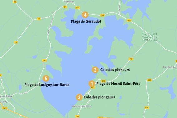 Carte Kitesurf