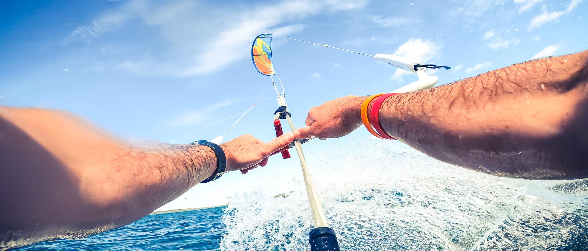 KiteSurf au lac d'Orient - crédit Le Bonheur des Gens (1)