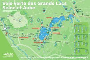 carte voie verte grands lacs