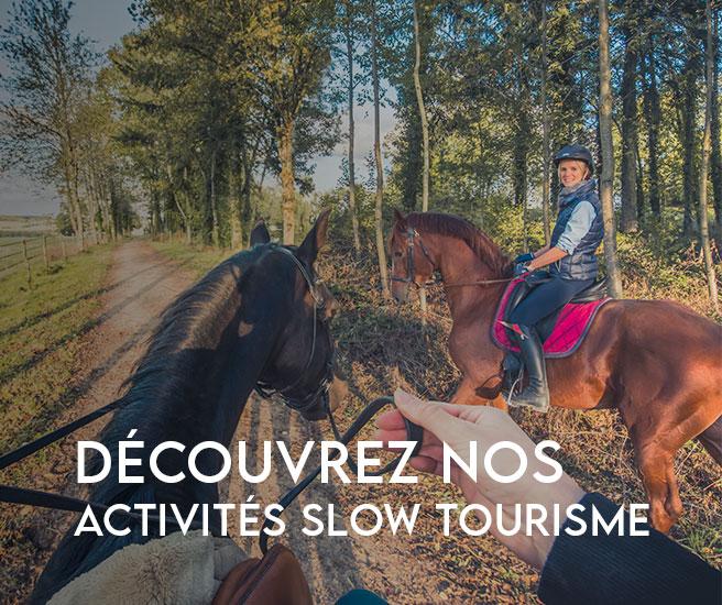 Notre sélection d'activités Slow Tourisme