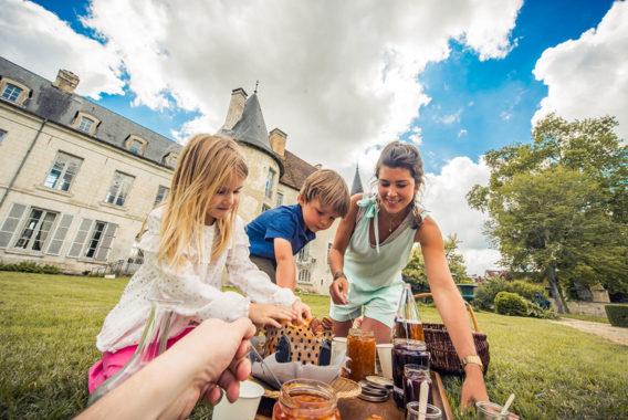 Gouter au Chateau de Taisne - Croquez dans l'Aube