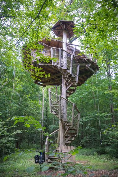 cabanes bois d'Orient