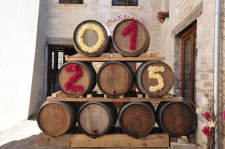 The Champagne route celebrates, 02 & 03 August 2015 in Les Riceys