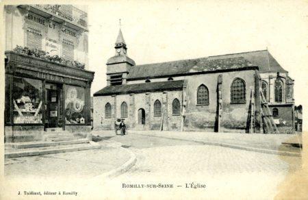 Bénévoles Un jour, une église : Eglise de Romilly-sur-Seine