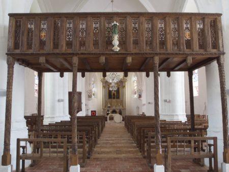 Bénévoles Un jour, une église : Eglise de Luyères